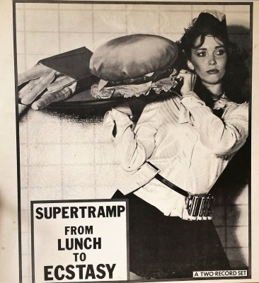 SUPERTRAMP -  FROM LUNCH TO ECTASY  Impossible Recordworks 2-109