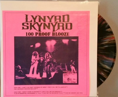 LYNYRD SKYNYRD  100 PROOF BLOOZE  Mushroom Records