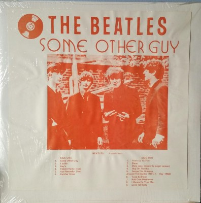 THE BEATLES    SOME OTHER GUY   CBM WEC 3813
