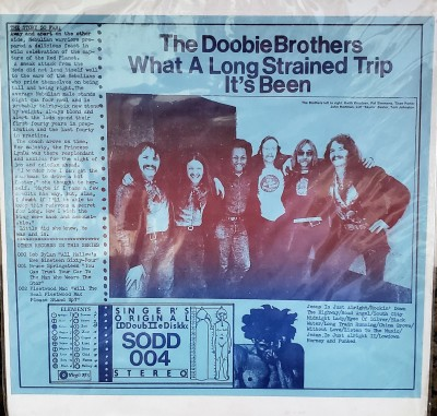 THE DOOBIE BROTHERS  WHAT A LONG STRAINED TRIP IT'S BEEN SODD 004